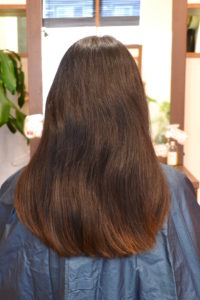 まとまらない髪